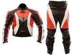 Dirt Bike Motocross ein Stück Lederkombi