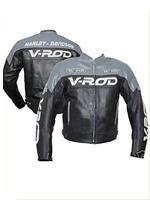 Harley Davidson V ROD Motorrad Lederjacke
