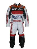 Honda REPSOL Gas Motorrad Lederkombi