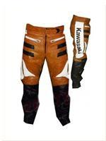 Kawasaki Motorrad Lederhose für Männer