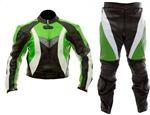 Motorradrennen zweiteilige Lederkombi für Männer