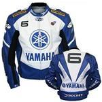 Yamaha 6 Joe Rocket Motorrad-Lederjacke