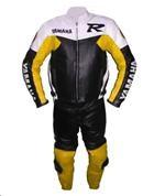 Yamaha R Racing zwei 2 Stück Motorrad-Lederkombi