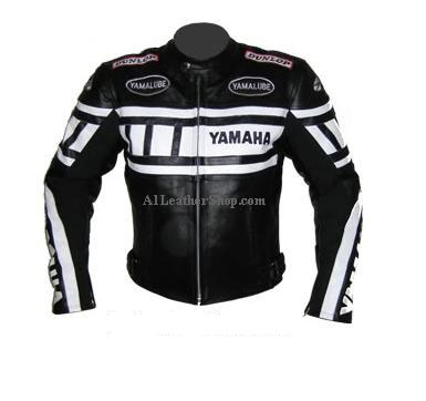 l gant yamaha comp tition moto veste en cuir. Black Bedroom Furniture Sets. Home Design Ideas