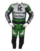 Kawasaki R1 costume en cuir de course