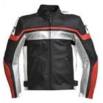 Moto veste de coureur