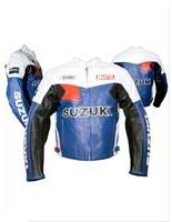 Motul Suzuki veste en cuir de moto