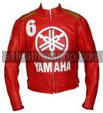 Yamaha 6 rouges veste de moto