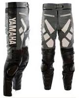 Yamaha Moto pantalon en cuir