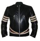 aniline noir doux nouveau style x hommes veste en cuir
