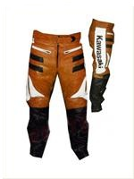 Kawasaki Motorbike Leather Trouser