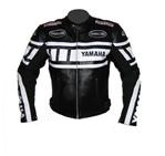 Stylish Yamaha Motorcycle Racing Leather Jacket
