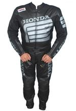 Honda two piece motorcycle racing leather suit