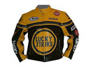 Lucky Strike Yellow Black Leather jacket