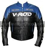 V ROD Harley Davidson motorcycle leather jacket