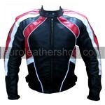 stylish colour ladies motorbike leather jacket